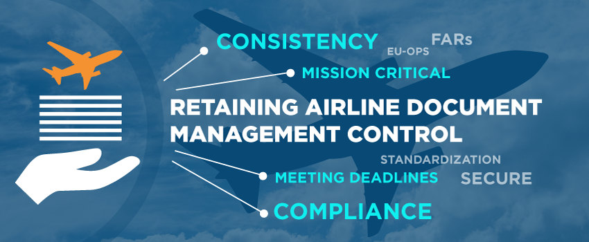 Retaining airline document management control