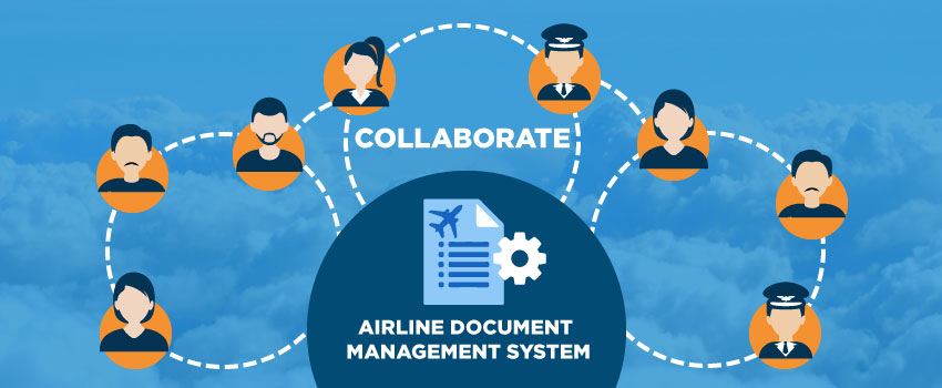 How great airline document management support collaboration in flight oerations