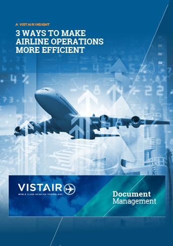 Download Vistair's insight 3 ways to make airline operations more efficient